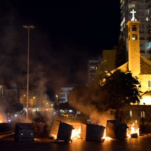 Renewed violence hits the streets of Beirut
