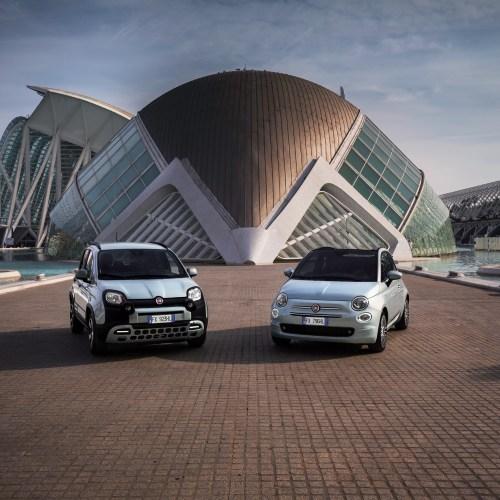 Fiat 500 and Fiat Panda Hybrid, the Hybrid according to Fiat