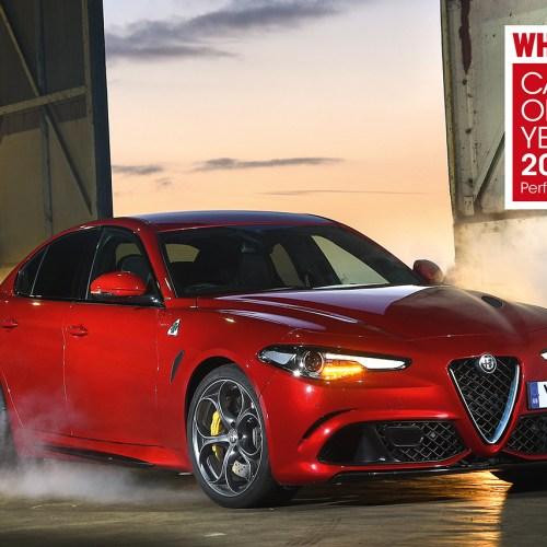 Alfa Romeo Giulia wins What Car? award for third consecutive year