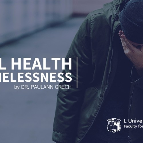 On Mental Health and Homelessness (Social Wellbeing UOM)