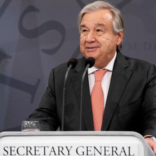 UN Secretary General Antonio Guterres pledges 'active engagement' in further de-escalation efforts
