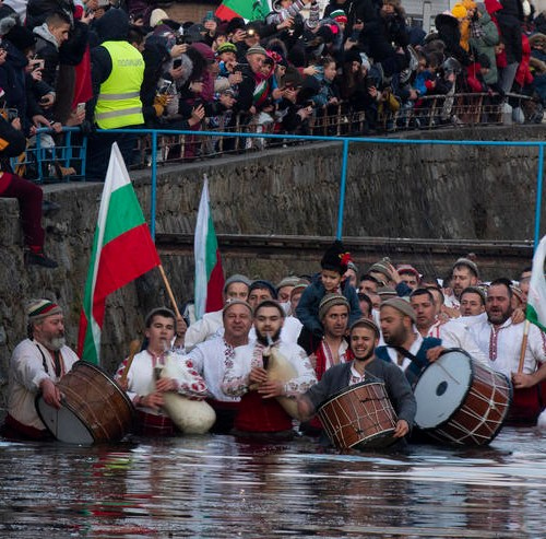 Photo story: Icy river dip in Bulgaria for Epiphany celebrations