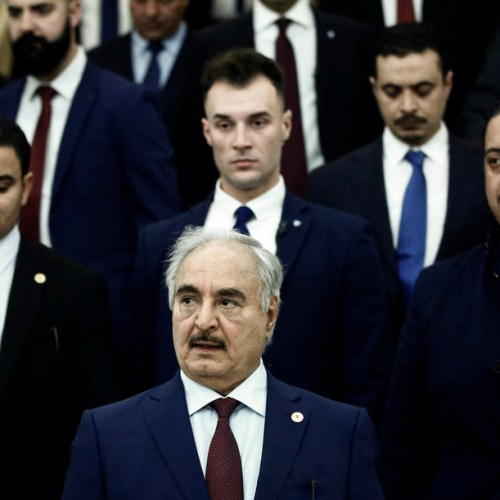 """Chances of Libyan breakthrough in Berlin in doubt, Erdogan threatens to """"teach a lesson"""" to Haftar"""