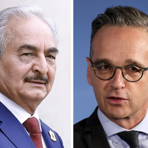 Germany say Haftar willing to adopt cease-fire, Libyan warlord travels to Greece