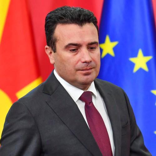 Macedonian Prime Minister Zoran Zaev resigns