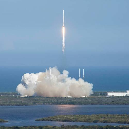 Space X successful emergency landing after rocket destruction paves way to fly astronauts