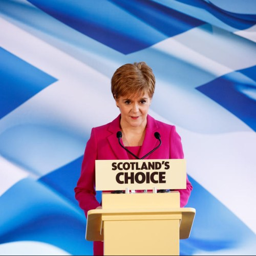 Scotland has 'democratic mandate' for new independence referendum, Sturgeon says on Brexit Day