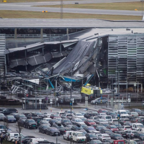 Photo Story: Fire at Norway airport destroys over 300 cars