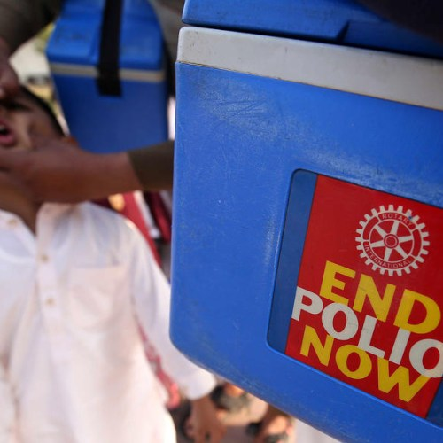 Spread of polio still an international public health concern