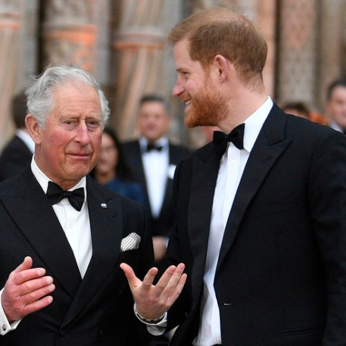 Prince Charles to fund Prince Harry and his wife Meghan for a year