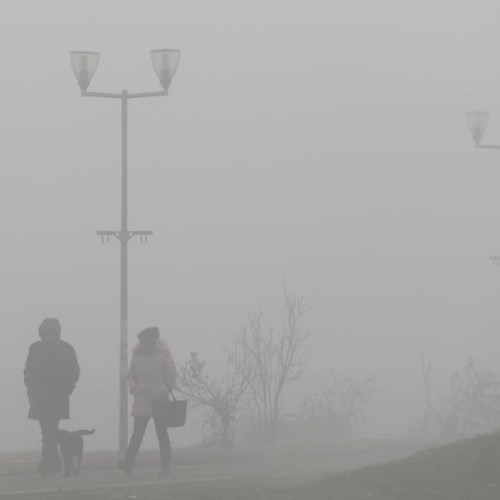 Photo Story: High air pollution in Belgrade
