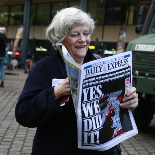 A look at how the UK's main newspapers are reporting Brexit Day