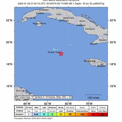 Big earthquake shakes Miami and Caribbean but damage minor, tsunami warning withdrawn