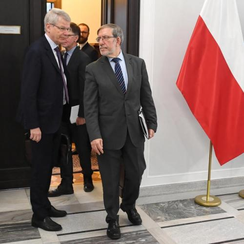 ECJ President warns Poland over judiciary reform as Venice Commission visits Poland ahead of Rule of Law vote in EP