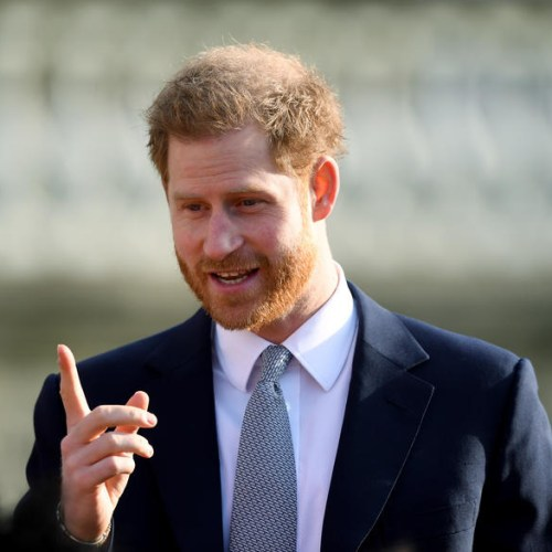 Prince Harry in first public engagement since royal crisis