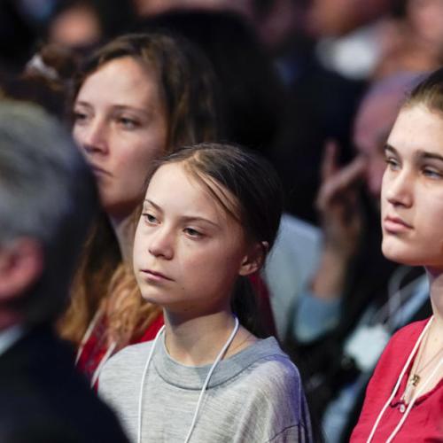 Thunberg responds to Trump at World Economic Forum