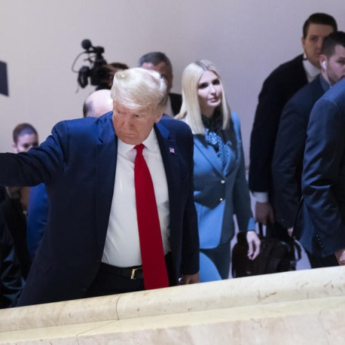 Photo Story: Trump in Davos