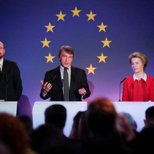 'Strength does not lie in splintered isolation': Von der Leyen says on Brexit Day