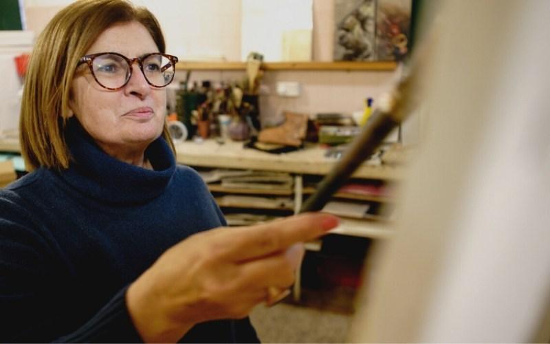 Over a Coffee . . . with artist Celia Borg Cardona
