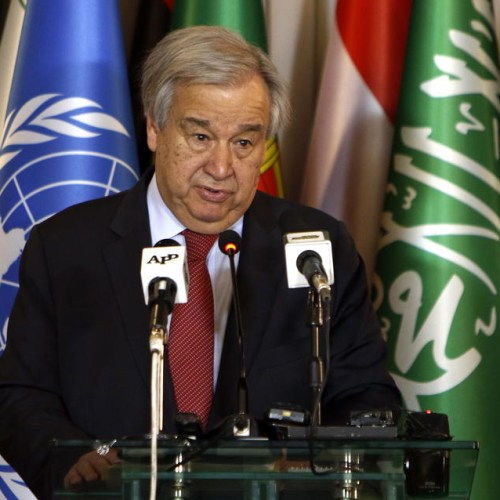 "UN chief says new virus poses ""enormous"" risks but ""is not out of control"""