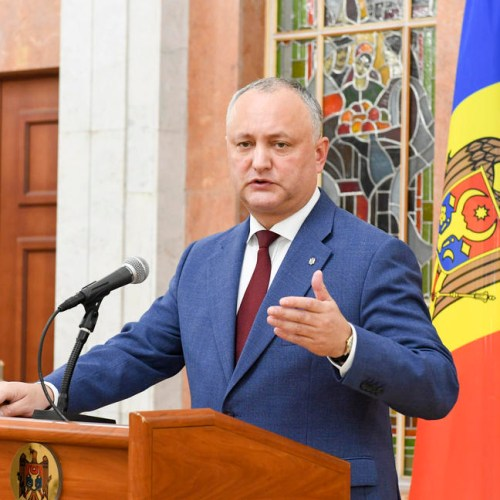 Moldova's president claims 'Europe can only be stronger with Russia'
