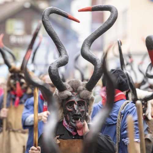 Photo Story: Traditional carnival in Switzerland