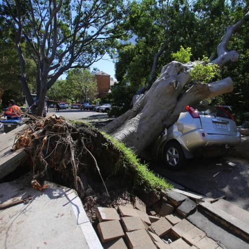 Sydney hit by violent storm