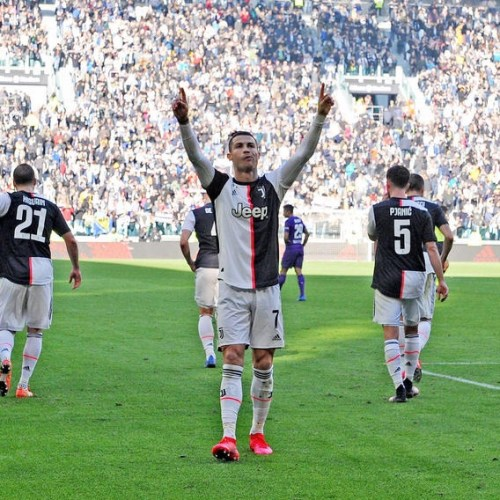 Ronaldo scores his 50th goal for Juventus, on the day Daniele Maldini continues the family's dynasty for AC Milan