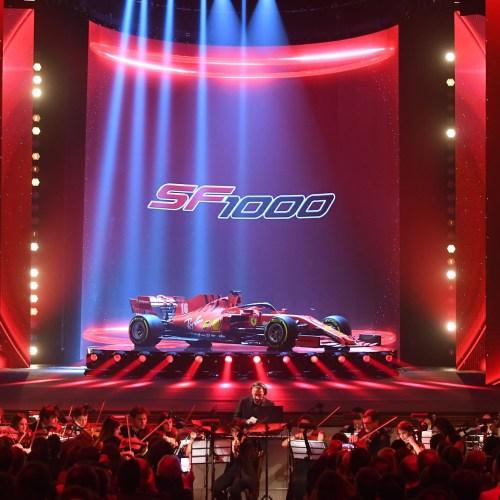 Ferrari unveils new F1 racing car