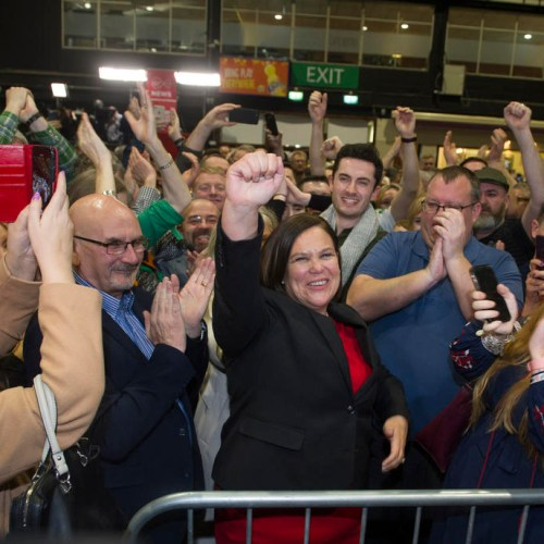 Sinn Féin wins highest percentage of first preference votes in Ireland's election