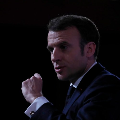 Macron unveils nuclear doctrine, warns EU 'cannot remain spectators' in arms race