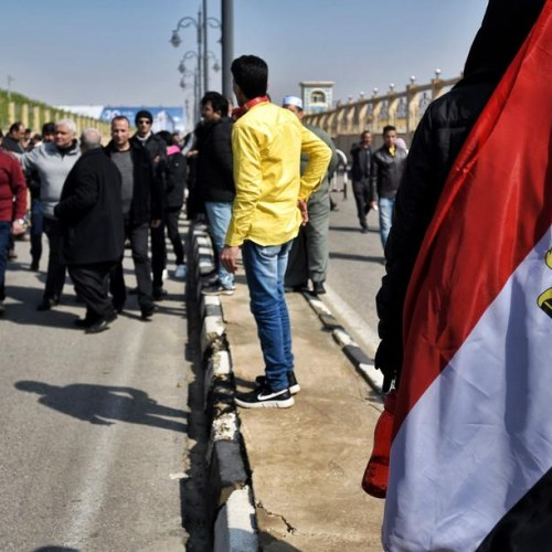 Photo Story: Egypt buries former president Mubarak in military funeral