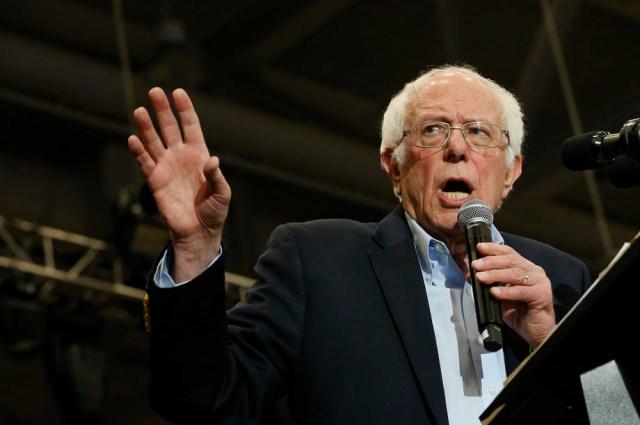 Bernie Sanders campaign in New Hampshire