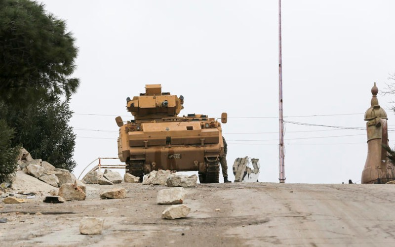 Two Turkish troops killed in Syria's Idlib -ministry