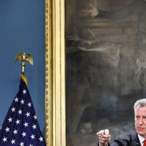 NYC Mayor de Blasio endorses Bernie Sanders