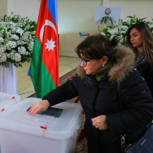 Opposition party leaders and activists arrested before protest against Azerbaijan's election result