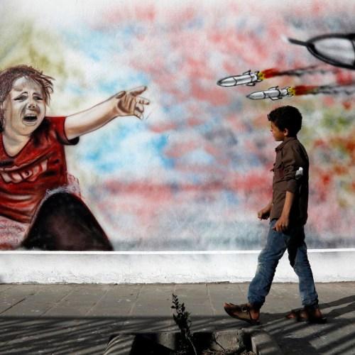 New report shows over 400 million children grow up in war zones