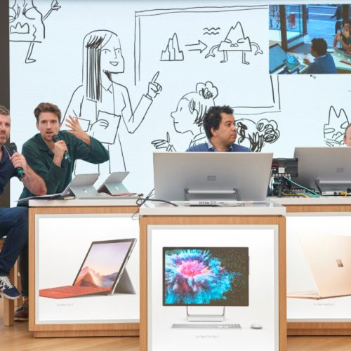 Microsoft Surface helps authors in the UK write and release short story for kids