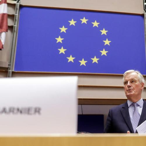 EU's Barnier says UK position makes trade deal 'unlikely'