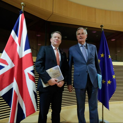 UK and EU agree to 'dial down rhetoric' in Brexit talks