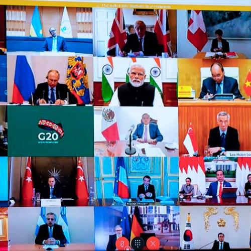 """WHO warns G20: """"We are at war"""""""