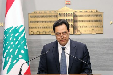 Lebanon's caretaker PM calls on 'friends' to stand by Lebanese