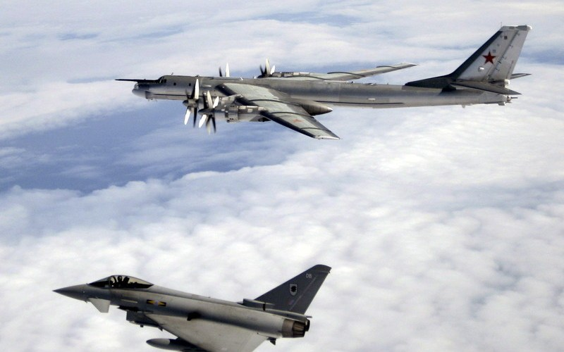 Russian jets intercepted heading to UK airspace