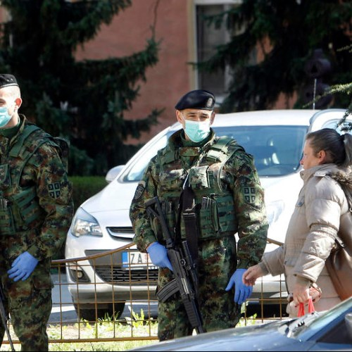 Serbia's military deploys at borders to help fight coronavirus