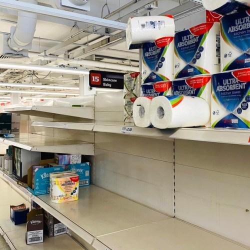 Supermarkets in UK begin food rationing after coronavirus-fuelled panic buying