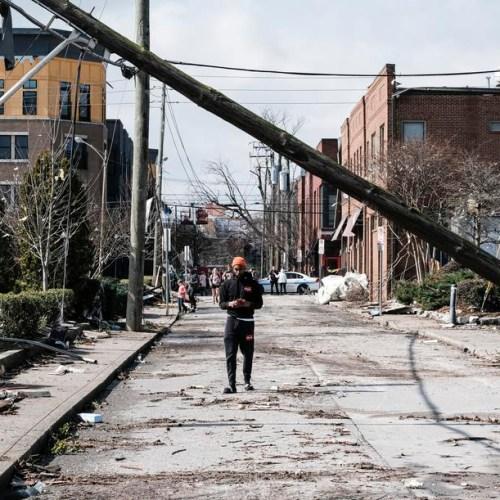 Tornadoes wreck havoc and kill at least 25 people in the US