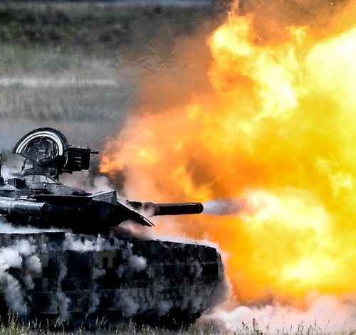 Global arms trade shows increase in the last five years