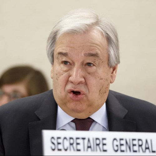 """We are in an unprecedented situation and the normal rules no longer apply"" says UN chief"