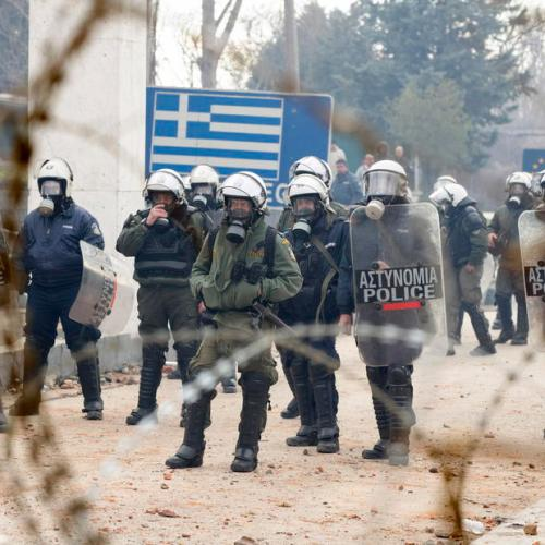 Greek – Turkish border – EU border agency Frontex is on 'high alert'