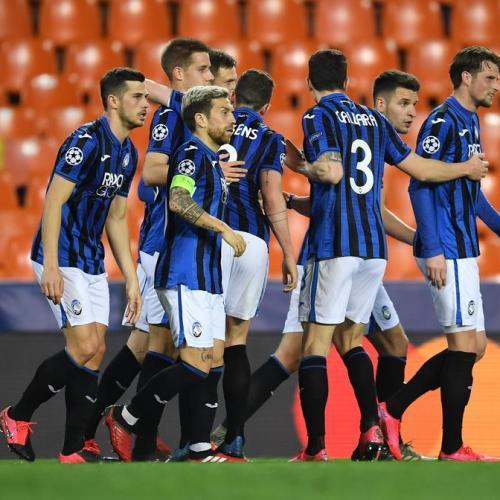 Atalanta qualifies for the UEFA Champions League Quarter Final